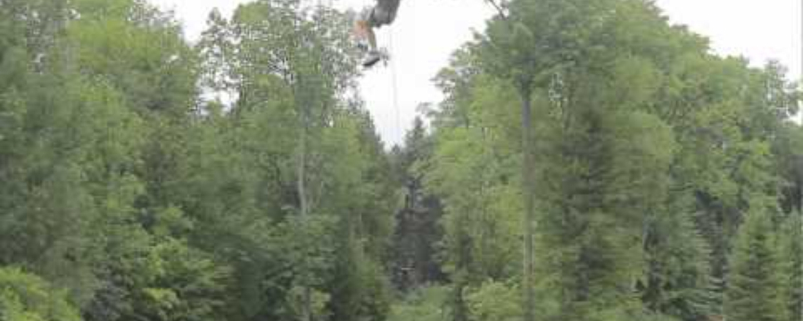 Visiting Treetops Eco-Adventure Park in Oshawa, ON